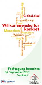 Titel Flyer Fachtagung 2015
